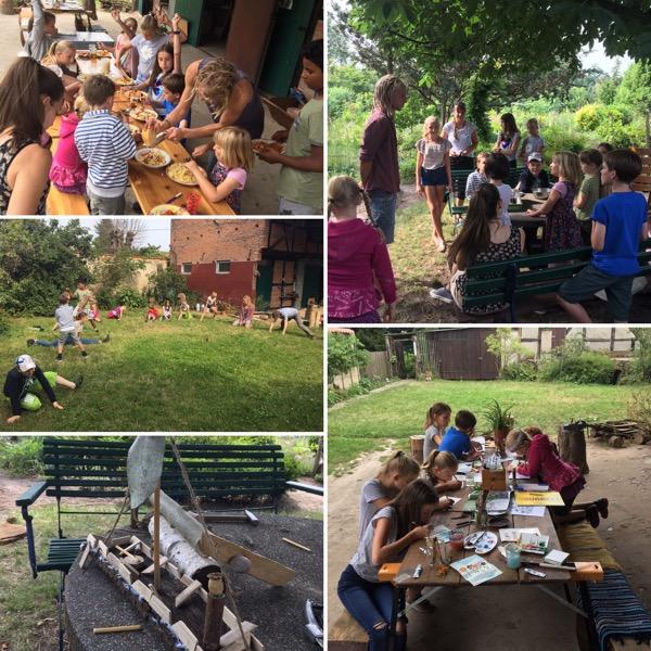 Green Kids Camp auf der Grünen Messe 2019 in Magdeburg